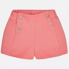 Mayoral 1240-78 Dívčí šortky korálové barvy