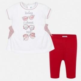 Mayoral 1772-68 Dívčí set červená barva