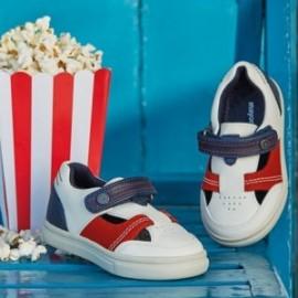 Mayoral 41890-81 Chlapčenské boty bílé barvy