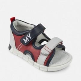 Mayoral 41906-24 Chlapčenské sandály červená barva