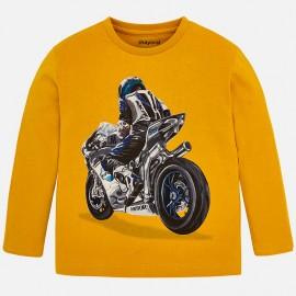 Mayoral 4030-90 tričko chlapci barva medu