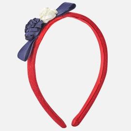 Mayoral 10464-55 Čelenka pro dívky červená barva