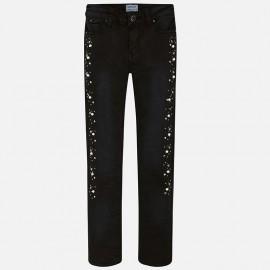 Mayoral 7534-22 kalhoty dívčí barva Černá