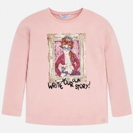 Mayoral 4062-48 tričko holčičí barva květinové plátky