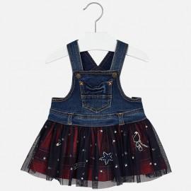Mayoral 2906-34 sukně zahradník holčičí červená barva