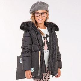 Mayoral 7497-65 Dívčí bunda barva černá