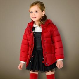 Mayoral 415-76 Dívčí bunda červená barva