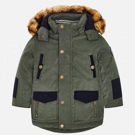 Mayoral 4416-33 Chlapecká bunda zelená barva