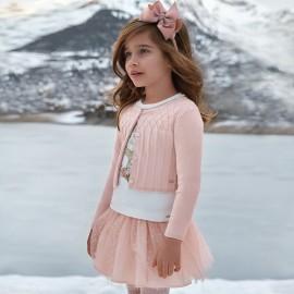 Mayoral 4326-39 Dívčí svetr, růžová barva