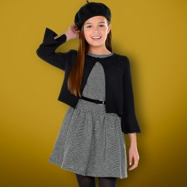 Mayoral 7938-78 Dívčí šaty černé