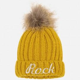 Mayoral 10511-41 Dívčí klobouk barevné kari