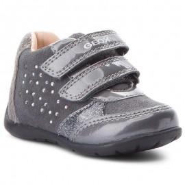 Geox dívčí boty se šedou barvou B8451A-022HI