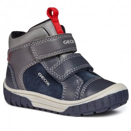 Geox Boot pro kluka B84D8B-8522 barevný námořnický/šedý