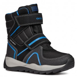 Geox dětské sněhové boty černé barvy J84OBB-011CE-C0245-S