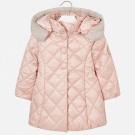 Mayoral 4424-32 Dívčí bunda prošívaná růžovou barvou