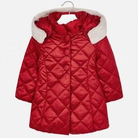 Mayoral 4424-33 Prošívaná dívčí bunda červená barva
