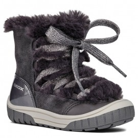 Geox dívčí boty barva šedá B842GA-00022-C9002-S