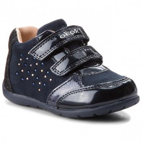 Geox boty dívčí černá barva B8451A-022HI-C4002