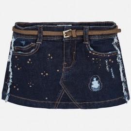 Mayoral 4910-85 sukně holčičí barva Tmavé džíny
