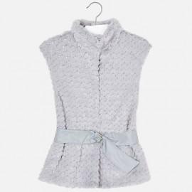 Mayoral 7413-67 Dívčí vesta barva šedá