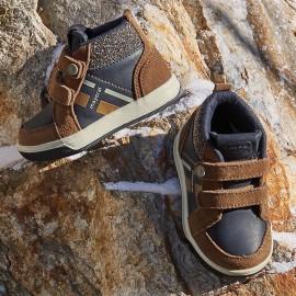 Mayoral 42872-86 Chlapčenské boty barva bronz / granát