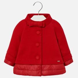 Mayoral 2487-82 bunda holčičí Červená barva