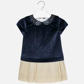 Mayoral 4940-77 Dívčí šaty barevně tmavě modré