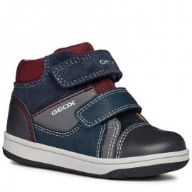 Geox Chlapčenská obuv B841LB barva granát