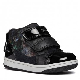 Geox Dívčí boty B841HB barva černá