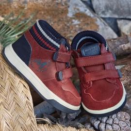 Mayoral 42874-89 Chlapčenská sportovní obuv v červené barvě