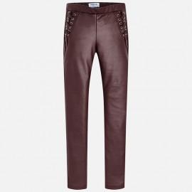 Mayoral 7532-41 Dívčí kalhoty v barvě burgundské