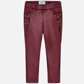 Mayoral 4544-23 Dívčí kalhoty malinová barva