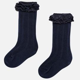 Mayoral 10457-69 ponožky pro dívku barva námořnictva