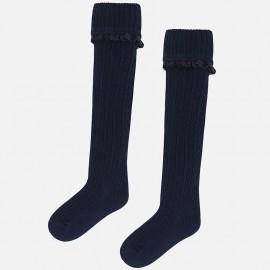 Mayoral 10499-60 ponožky pro dívky barva námořnictva