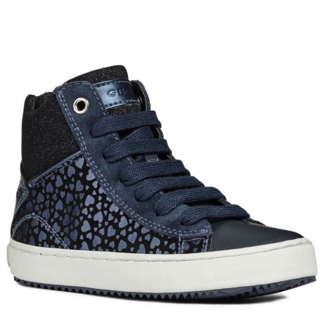 Geox Dívčí boty barva námořnictva J844GD-0DHBC