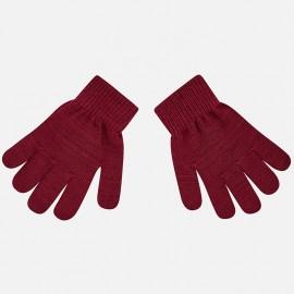 Mayoral 10476-52 dětské rukavice barva bordó