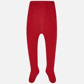 Mayoral 10493-33 punčocháče dívčí hladký barva červená