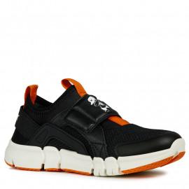 Geox chlapčenské tenisky černá barva J929BD-014BU-C9999