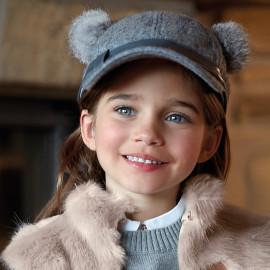 Mayoral 10516-10 Mayoral 10516-10 Dívčí čepice s barevnou ocelí