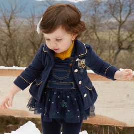 Mayoral 2470-47 dívčí kabát barva námořnictva