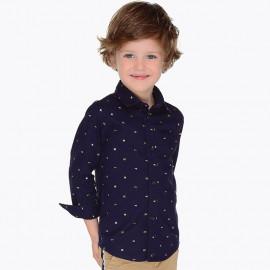 Mayoral 4140-84 Chlapecké tričko barvy tmavě modré