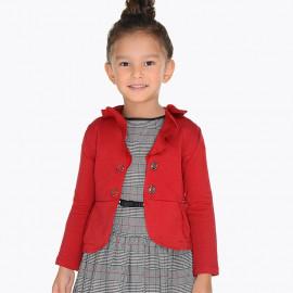 Mayoral 4400-10 Sako pro dívku červené barvy