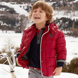 Mayoral 4406-50 Chlapecká bunda v barvě burgundské