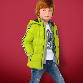 Mayoral 4420-10 bunda chlapci barva zelená