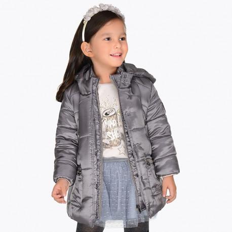 Mayoral 4429-11 bunda holčičí tmavě hnědá barva