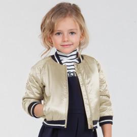 Mayoral 4433-16 Dívčí bunda barva šampaňského