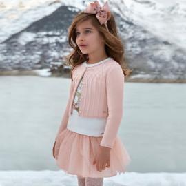 Mayoral 4902-41 Dívčí sukně tyl růžová barva