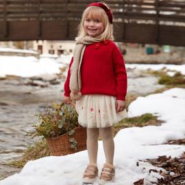 Mayoral 4904-81 Dívčí sukně barva béžová