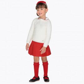 Mayoral 4906-58 Dívčí sukně červená barva