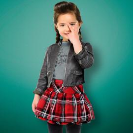 Mayoral 4914-10 Dívčí sukně barva červená